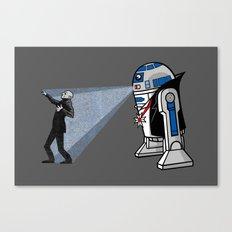 NOS4-R2 (star war dracula) Canvas Print