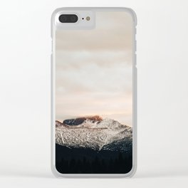 Sunset on Trail Ridge Clear iPhone Case
