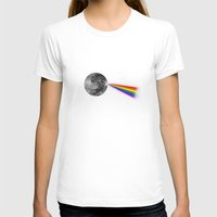 dark side of the moon T-shirts featuring The Dark Side of the Moon by Zach Terrell