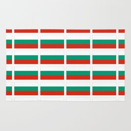 flag of bulgaria -bulgarian, България,български,slav,cyrillic,Sofia,bulgaria Rug