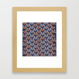 triangle 2 Framed Art Print