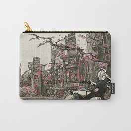 two piece shoot out in neo tokyo... by rmd Carry-All Pouch