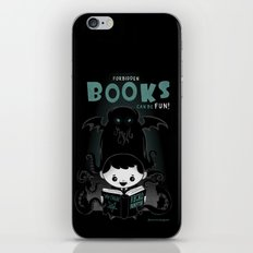 Forbidden books can be fun! iPhone & iPod Skin