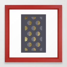 moon night - 5c/4s/4 Framed Art Print