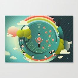 Wonderful (What a Wonderful World) Canvas Print