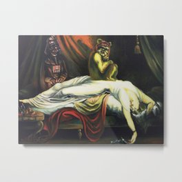 The Night Invader Metal Print