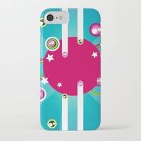 disco iPhone & iPod Cases featuring Disco by Kaissa Kkaissa