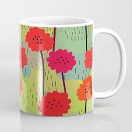 Fiori allegri stilizzati Coffee Mug