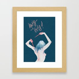 Hits With Tits! Framed Art Print