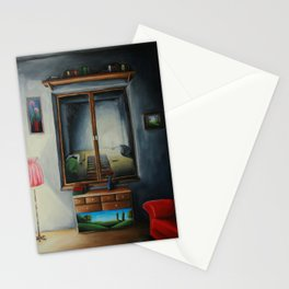 Light from the other side Stationery Cards