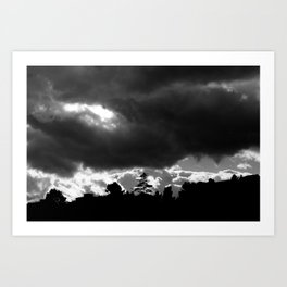 Impending Doom Art Print