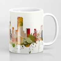 san francisco Mugs featuring San Francisco by mark ashkenazi