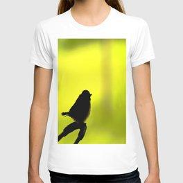 Baby Bird In Early Summer  T-shirt