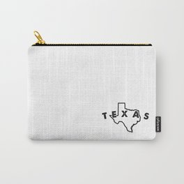 texas art Carry-All Pouch