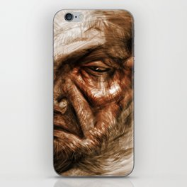 Wise Oldman iPhone Skin
