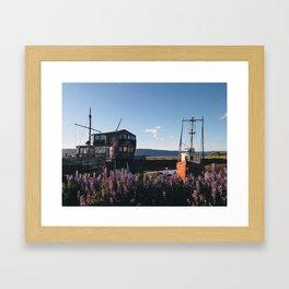 Homor Alaska Framed Art Print