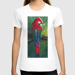 "Aras parrot - ""A morning like the others"" - by LiliFlore T-shirt"