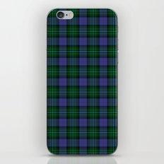 Clerke of Ulva Tartan iPhone & iPod Skin
