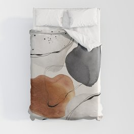 Abstract World Duvet Cover