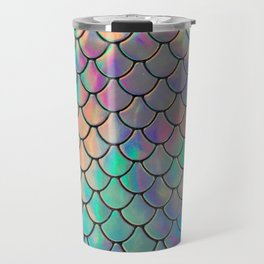 Iridescent Scales Travel Mug