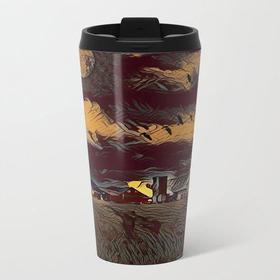 Harvest Moon Metal Travel Mug
