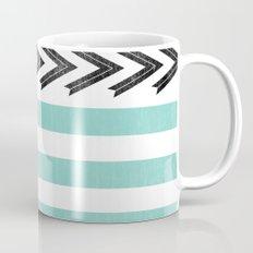 ARROW STRIPE {TEAL} Mug