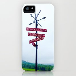 Limerick iPhone Case