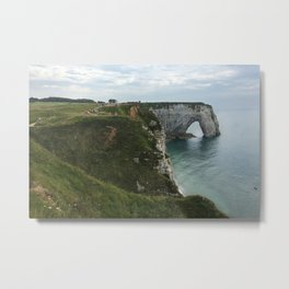 Etretat, France - Coastline Metal Print