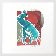 Capoeira 434 Art Print