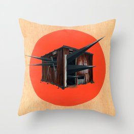Sheds & Shacks | No:3 Throw Pillow