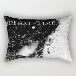 Nude art - time Rectangular Pillow