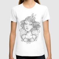 burlesque T-shirts featuring Burlesque by Calinca Alcantara