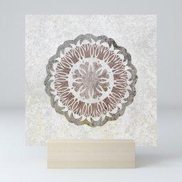 Shared love mandala Mini Art Print