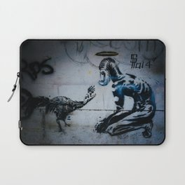 The Hand That Feeds Laptop Sleeve