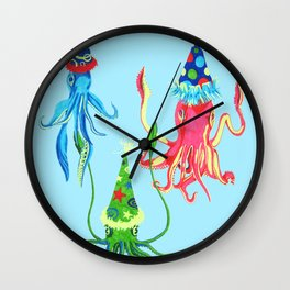 Party Squad Wall Clock