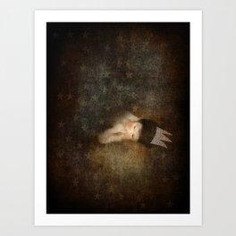 Sleeps with Stars Art Print