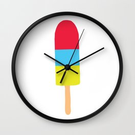 Icy Pole Sticker Wall Clock
