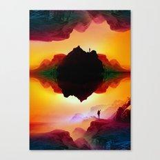 Vibrant Isolation Island Canvas Print