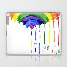 Love Rainbow Rain Laptop & iPad Skin