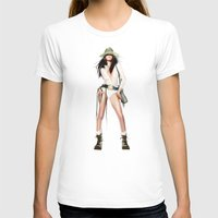 cowboy T-shirts featuring cowboy by tatiana-teni