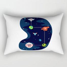 Overworld: Space Rectangular Pillow