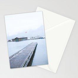 345. Minnewanka Boat House, Banff, Canada Stationery Cards