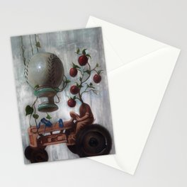 Morning Glories Stationery Cards