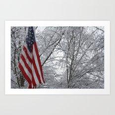 American Snow Art Print