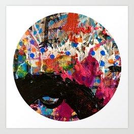 Well Runs Deep Abstract Art Print
