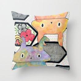 sebastian +tiffany Throw Pillow