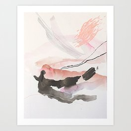 Day 25: The natural beauty of one thing leading to another. Art Print