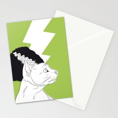 The Bride of Frankencat Stationery Cards