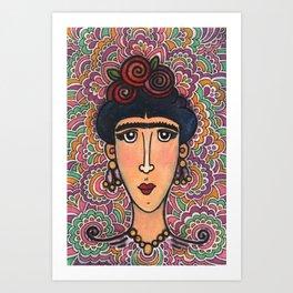 For the Love of Frida Art Print