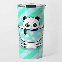 A Tired Panda Travel Mug